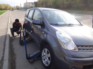 заказ сезонного хранения шин на автомобиль nissan
