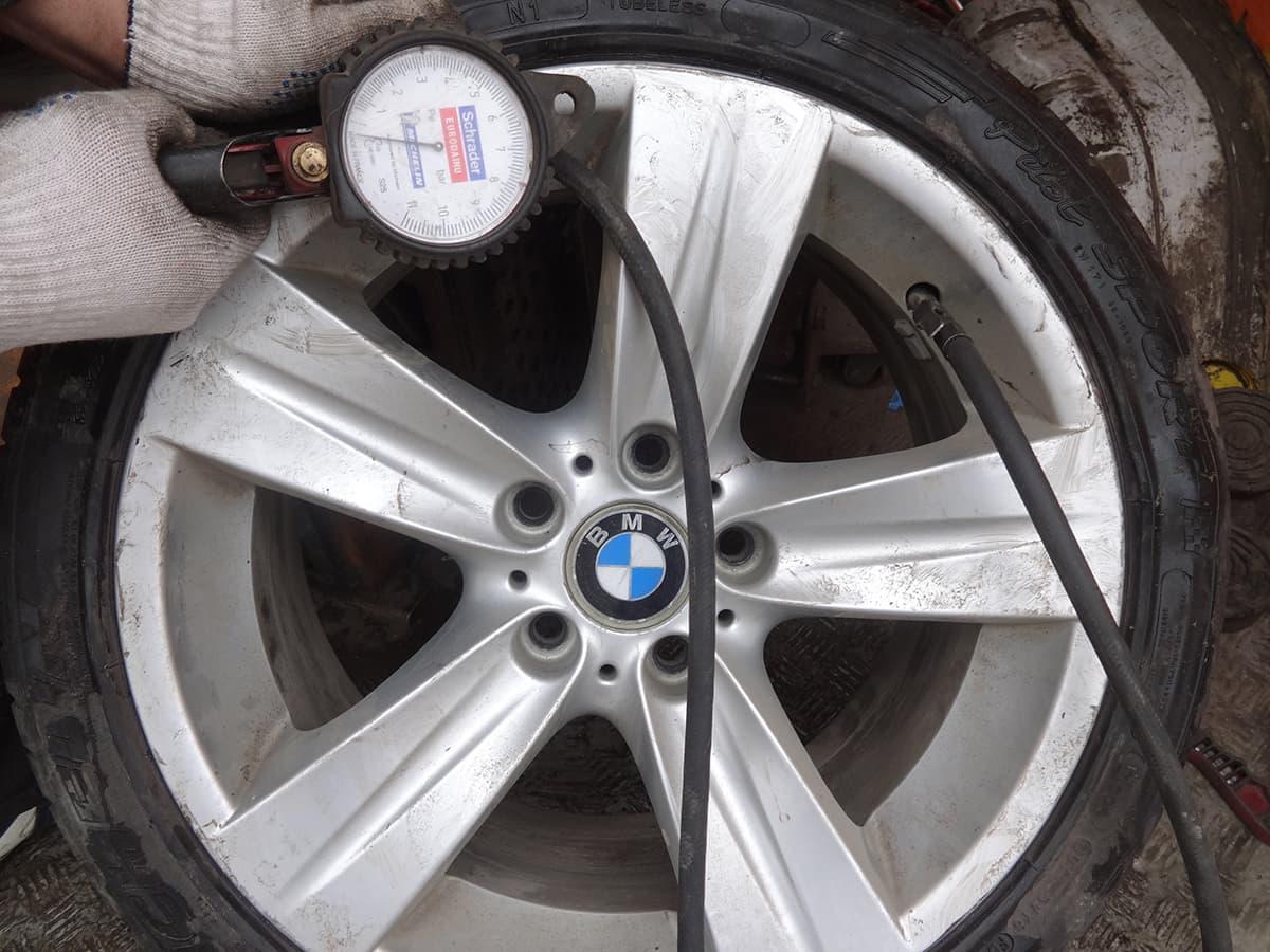 ремонт шины бмв