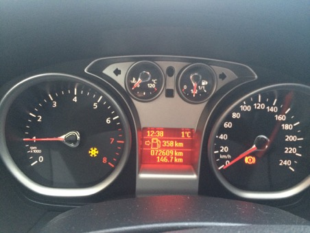 индикация похолодания ниже нормы, для летних шин
