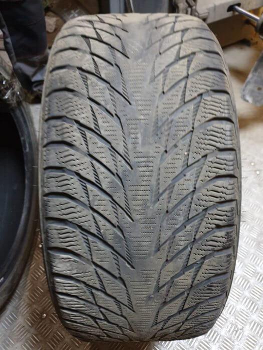 Слишком большое давление в шинах