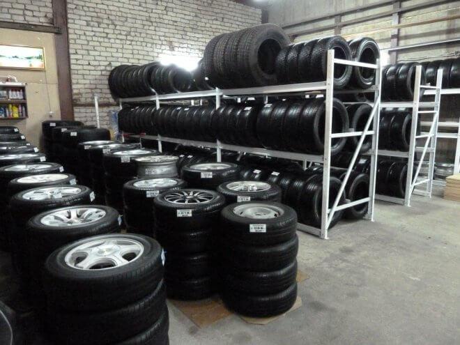 Профессиональное хранение шин