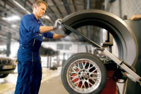 Профессиональная балансировка колес