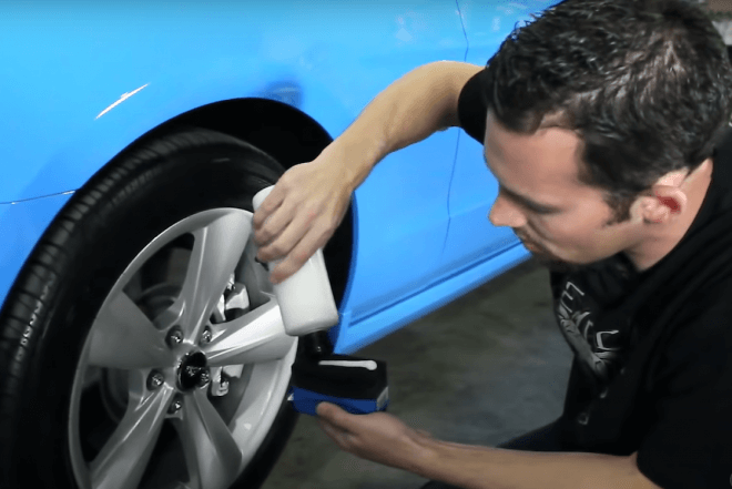 чернение колес своими руками на автомобиле