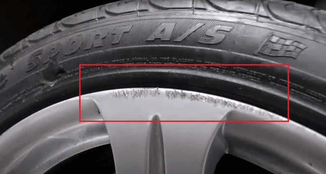 Царапины и повреждение диска из-за низкого профиля колес