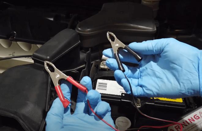 зарядка авто аккумулятора